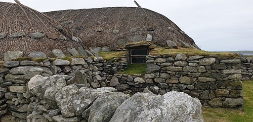 blackhouse roof